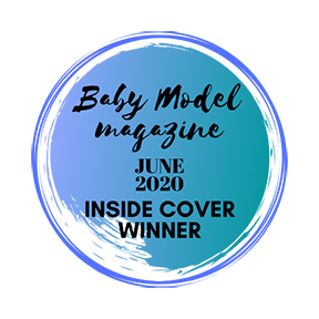 Baby Model Magazine Inside Cover Winner