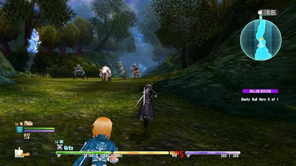 Sword Art Online Hollow Fragment Repack PC Free Download Screenshot 1