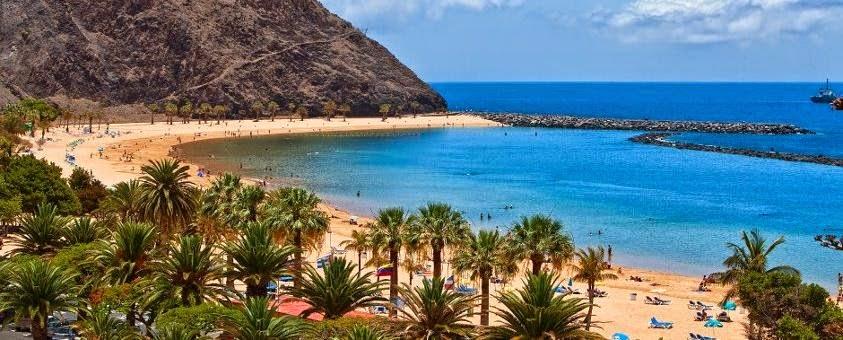Playa de las Américas en Tenerife