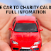DONATE CAR TO CHARITY CALIFORNIA  FULL INFOMATION