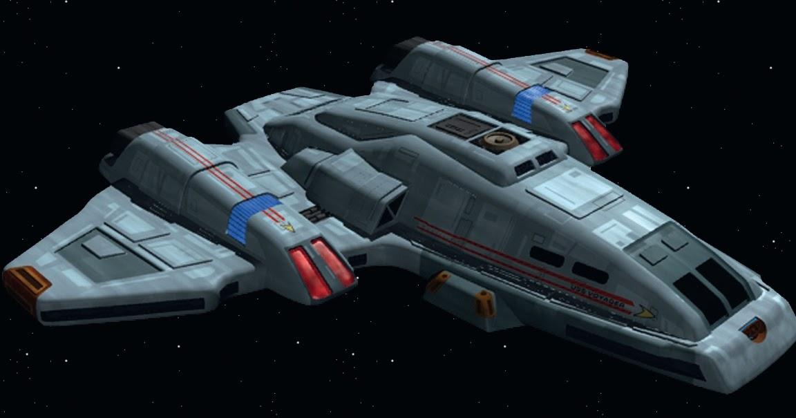 Star Trek Voyager Aeroshuttle Star Trek Starships Toy