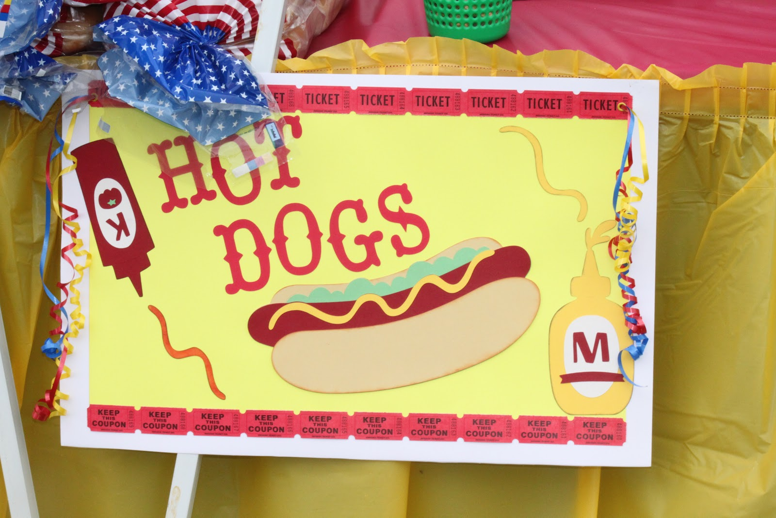 My Paper Productions: Carnival Signs - Food