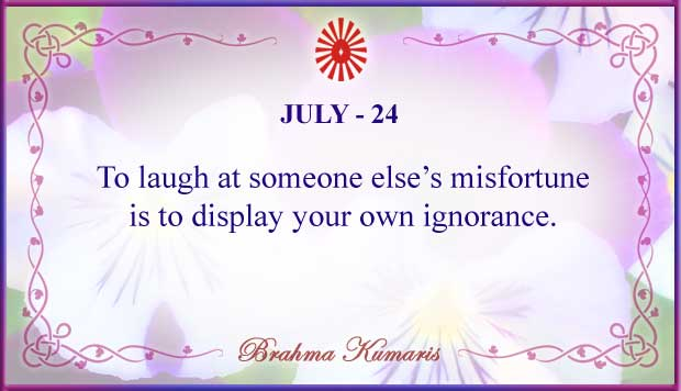 Thought For The Day July 24