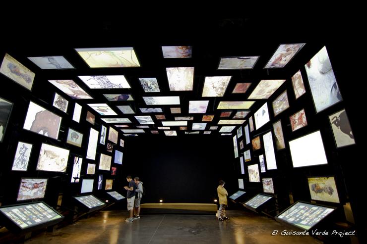 Arte Contemporáneo en Lascaux IV - Montignac, Francia por El Guisante Verde Project