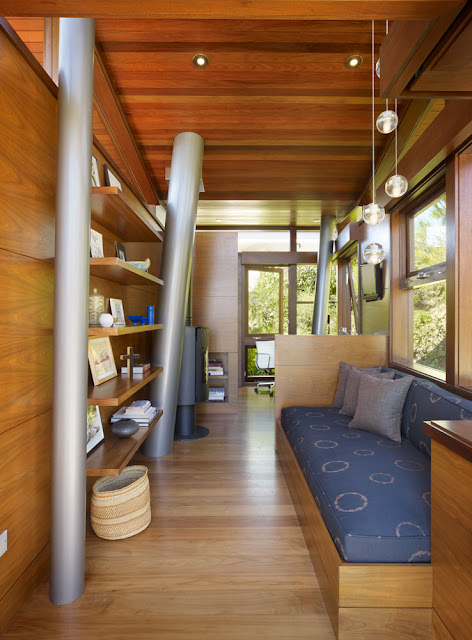 Beautiful modern treehouse design, Los Angeles, California