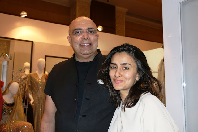 Designer Tarun Tahiliani with Designer Misha Lakhani at Day 3 of Vogue Wedding Show 2016 at Taj Palace, New Delhi wedding fashion