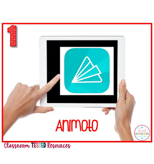 Animoto for biography book reports