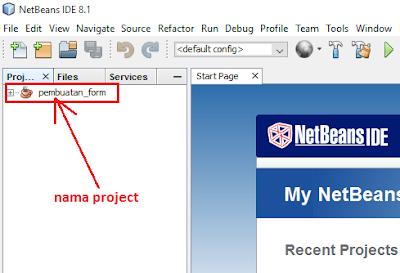 3 - Tutorial 3 Pemrograman Java Netbeans - Cara Menciptakan Form
