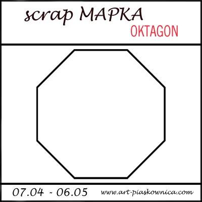 SCRAPmapka - kwiecień
