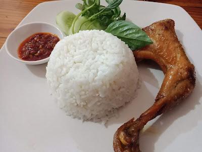 ayam kalasan kuliner enak di kota serang