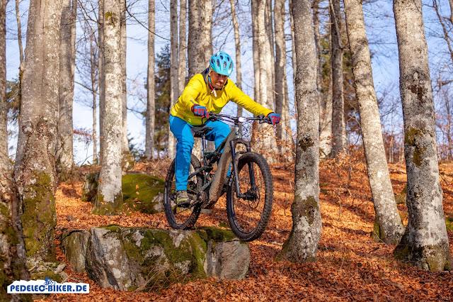 Testergebnis: Das Moterra Neo 2019 ist ein klasse Trailbike für lange Touren, verwinkelte Trails und sogar kleine Drops.