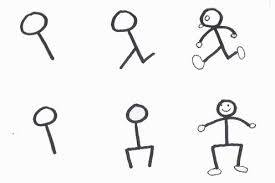 Learn to draw a stickman  for kids