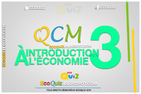 Introduction à L'Économie QCM 3