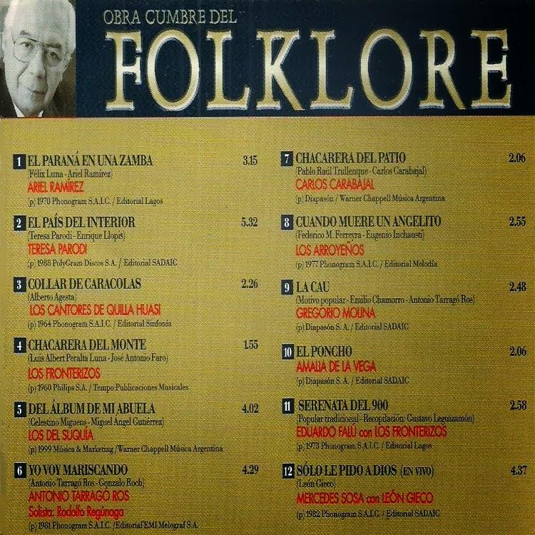 obras cumbres del folklore 17 descargar gratis