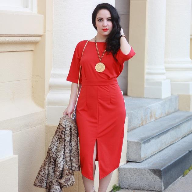 Kancystore  Red Dress