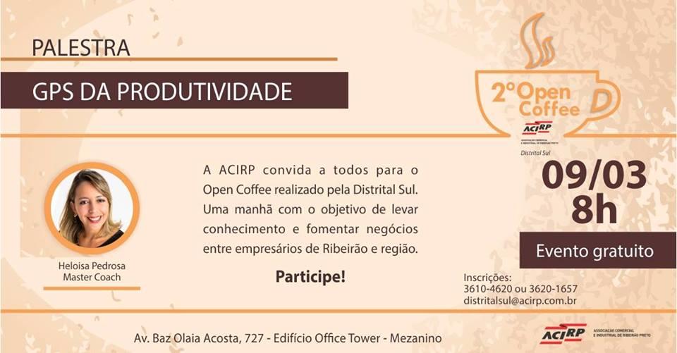 Clube De Administração Ribeirão Preto Sp Ii Open Coffee