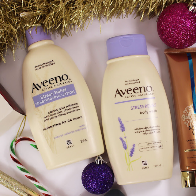 Aveeno Stress Relief Moisturising Lotion & Body Wash review