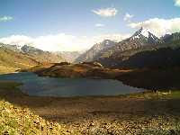 Chandra Taal Lake in Spiti Valley