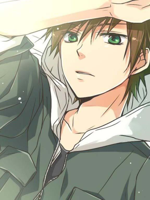 Hình ảnh anime boy cute