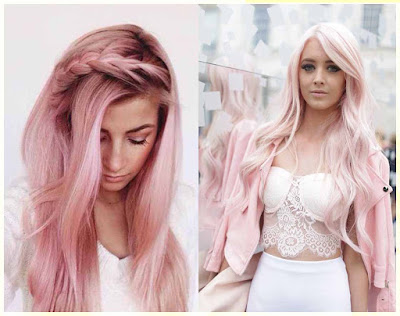 Baby Pink Hair Color - 18 Best Hair Color Trend 2016