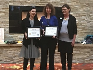 ESP Diversity Award received by Jennifer Garbow & Becky Hagen Jokela.