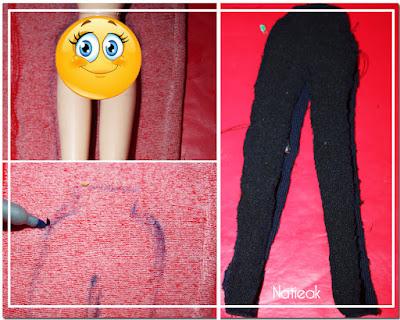 habits de poupée mannequin (patrons et tutoriels)