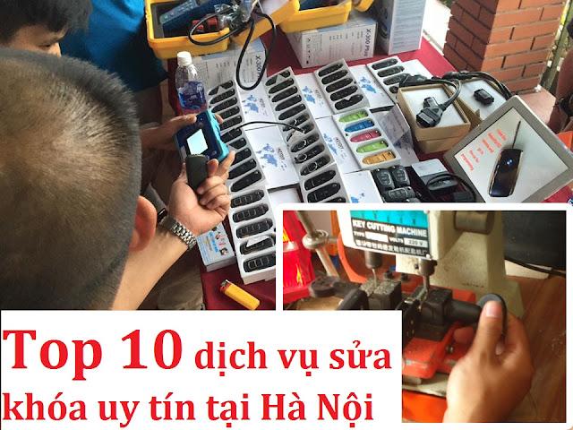 Top 10 dịch vụ sửa khóa tại Hà Nội uy tín chuyên nghiệp nhất