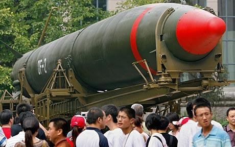missile in public