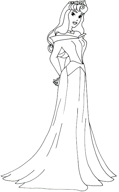 Aurora Coloring Pages With Aurora Coloring Pages Disney Princess