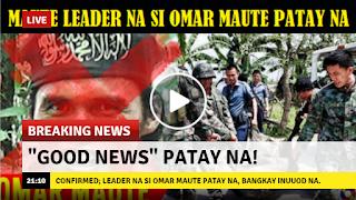 2sB1NBq VIRAL NOW: CONFIRMED! Leader na si Omar Maute patay na, bangkay inuuod na!