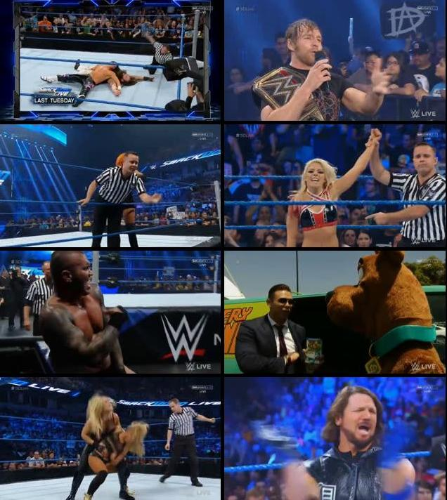 WWE Smackdown Live 09 August 2016