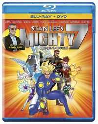 Stan Lees Mighty 7 (2014) Dual Audio Download Hindi - English 200MB BRRip