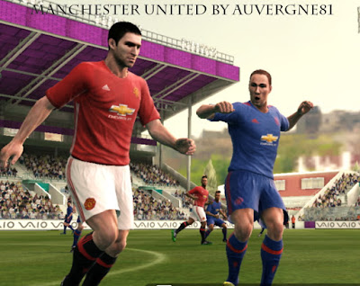 PES 2013 Manchester United 16-17 Home & Away Kit Leaked by auvergne81