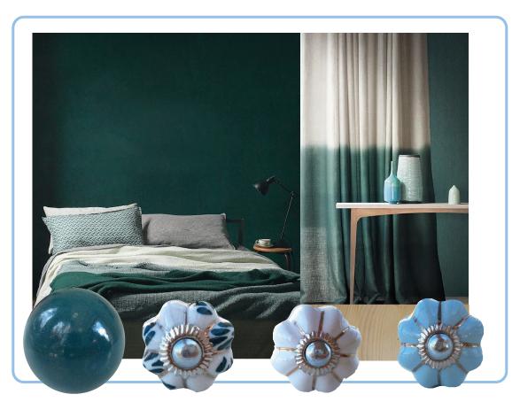 bouton-de-meuble citrouille vert blanc bleu pastel