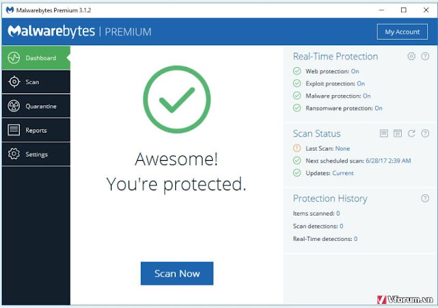 Download Malwarebytes Premium 3.6.1.2711 Final Full Key + Portable
