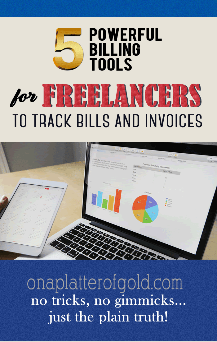 5 Powerful Billing Tools For Freelancers And Small Businesses To Track Bills And Invoices