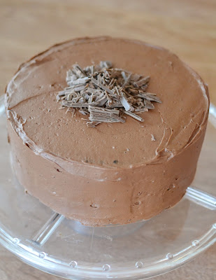 Hershey's Chocolate Cake With A Mousse Filling