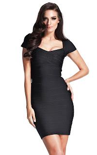 image result bcbg bandage black dress