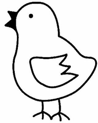 pollo dibujo