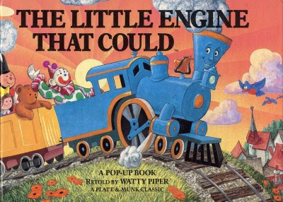 The Little Engine That Could by Walter Mitty and Loren ... |Little Blue Engine That Could