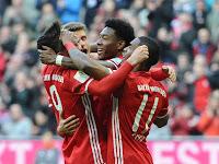 Luar Biasa…. Bayern Lumat Hamburger Dengan Skor 8-0