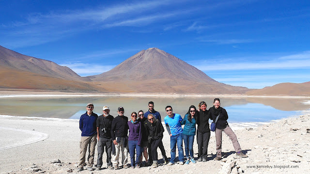 Laguna Verde or Green Lagoon, Salar de Uyuni Tour, Bolivia