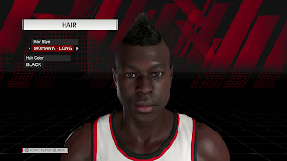 MyPLAYER Hairstyle Mohawk Long