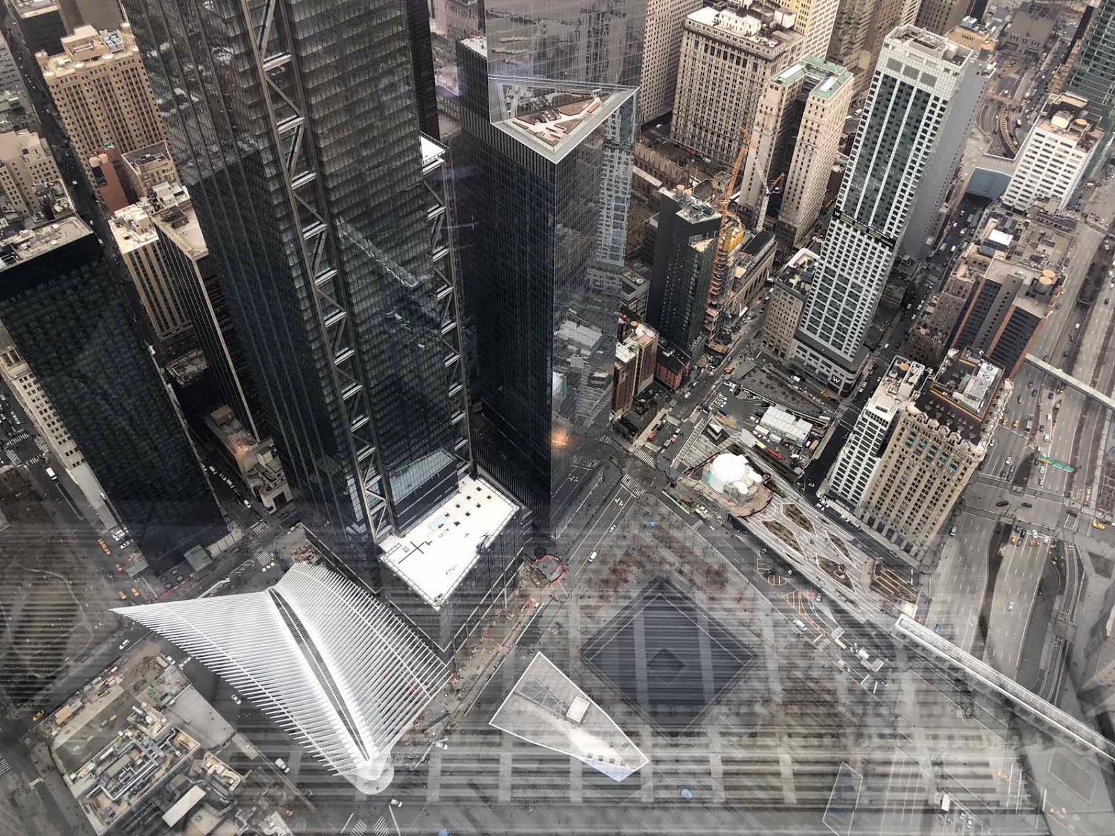 Näkymiä One World Trade Centeristä