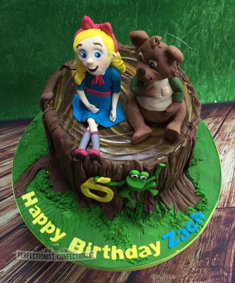 Goldilocks Cakes For St Birthday