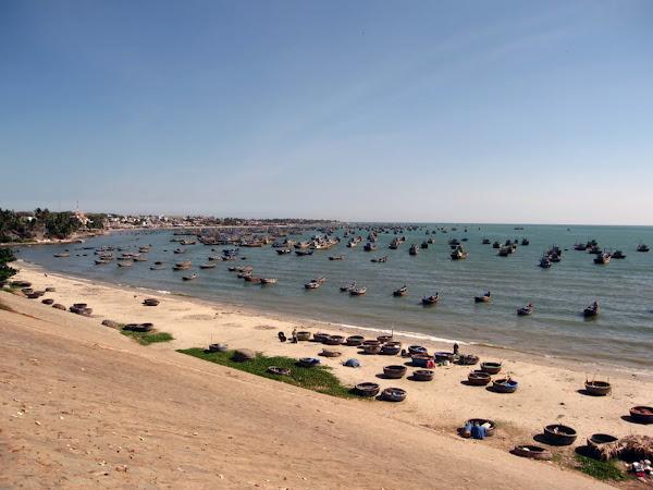 Puerto de pescadores de Mui Ne