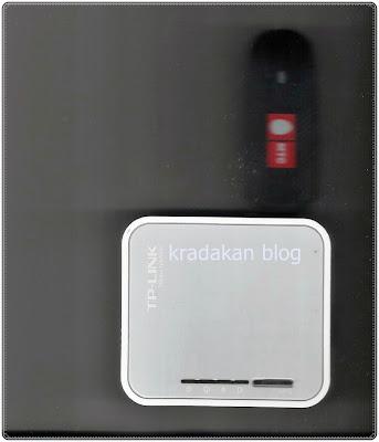 roter dengan modem 3G saya pict by http://kradakan.blogspot.com