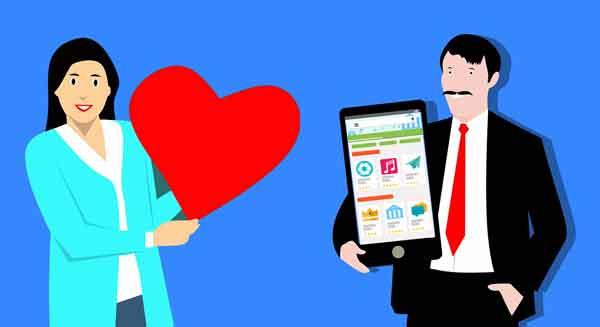 mencari cinta di dunia online dengan mudah dan gratis melalui aplikasi yang tersedia di google play store
