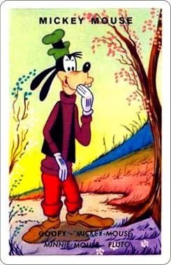 Juego Familias Walt Disney Carta Mickey Mouse 4