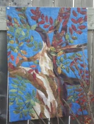 Fall Tree wall hanging